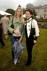 Left to right, LADY ALEXANDRA GORDON-LENNOX and DANNII MINOGUE at the Cartier Style Et Luxe at the Goodwood Festival of Speed, Goodwood House, West Sussex on 24th June 2007.<br />