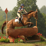 Sarah Huebner (USA) and Newsbeat at the 2007 CN North American Junior and Young Riders' Championships held at the Virginia Horse Center in Lexington, Virginia