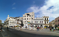 Old Havana, Cuba. Havana vieja, Obispo street.