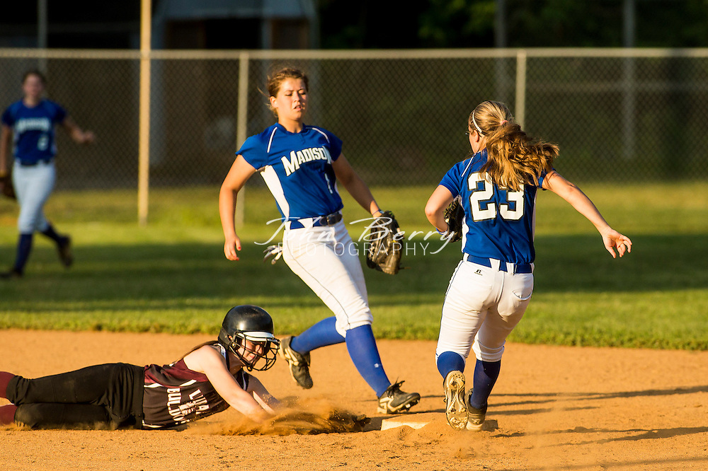 May/29/13:   MCHS Varsity Softball vs Luray Bulldogs, Region B Semi Final.  Madison defeats Luray 5-0 earning a berth in the State Tournament and will host East Rockingham in the Region B Final on Friday at 7:00pm.