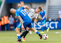 26.06.2016, Stade Pierre Mauroy, Lille, FRA, UEFA Euro 2016, Deutschland vs Slowakei, Achtelfinale, im Bild Marek Hamsik (SVK), Joshua Kimmich (GER) // Marek Hamsik (SVK) Joshua Kimmich (GER) during round of 16 match between Germany and Slovakia of the UEFA EURO 2016 France at the Stade Pierre Mauroy in Lille, France on 2016/06/26. EXPA Pictures © 2016, PhotoCredit: EXPA/ JFK
