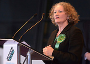 © London News Pictures. 04/05/2012. London, UK. JENNY JONES. Boris Johnson is elected as Mayor of London at London City Hall on May 4, 2012. Johnson, a Conservative member of Parliament, defeated Ken Livingstone to become mayor of London for a second term. Photo credit: Stephen Simpson/LNP