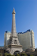 The Eiffel Tower at Paris Hotel on the Las Vegas Strip.