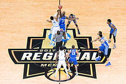 The University of Kentucky hosted the University of North Carolina in a 2017 NCAA D1 Men's South Regional Championship, Sunday, March 26, 2017 at FedExForum in Memphis.
