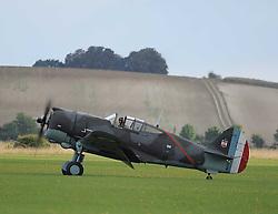 Curtiss Hawk 75, 1940s, The Duxford Air Show, 14th September 2014