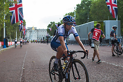 Lotta Lepistö (FIN) of Cervélo-Bigla Cycling Team after the Prudential RideLondon Classique - a 64.8 km road race, starting and finishing in central London on July 28, 2018, in London, United Kingdom. (Photo by Balint Hamvas/Velofocus.com)