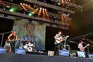 ©www.agencepeps.be/ F.Andrieu - Belgique -Ronquière - 130804 - Festival de Ronquière en présence de Giédré, Saule, Eiffel, Olivia Ruiz, Mika.<br /> Saule
