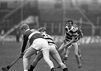 Borris-Ileigh V Rathnure in the All Ireland Club Hurling Finals in Croke Park, Dublin, circa March 1987 (Part of the Independent Newspapers Ireland/NLI Collection).