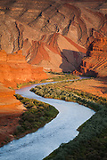 The San Juan River near Mexican Hat, Utah.