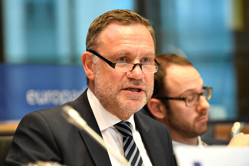 11 May 2017, 123rd Plenary Session of the European Committee of the Regions <br /> Belgium - Brussels - May 2017 <br /> SCHNEIDER Michael &copy; European Union / Fred Guerdin
