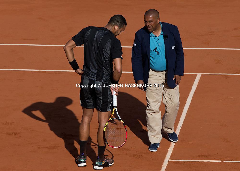 Jo-Wilfried Tsonga (FRA)<br /> <br /> Tennis - French Open 2015 - Grand Slam ITF / ATP / WTA -  Roland Garros - Paris -  - France  - 2 June 2015.