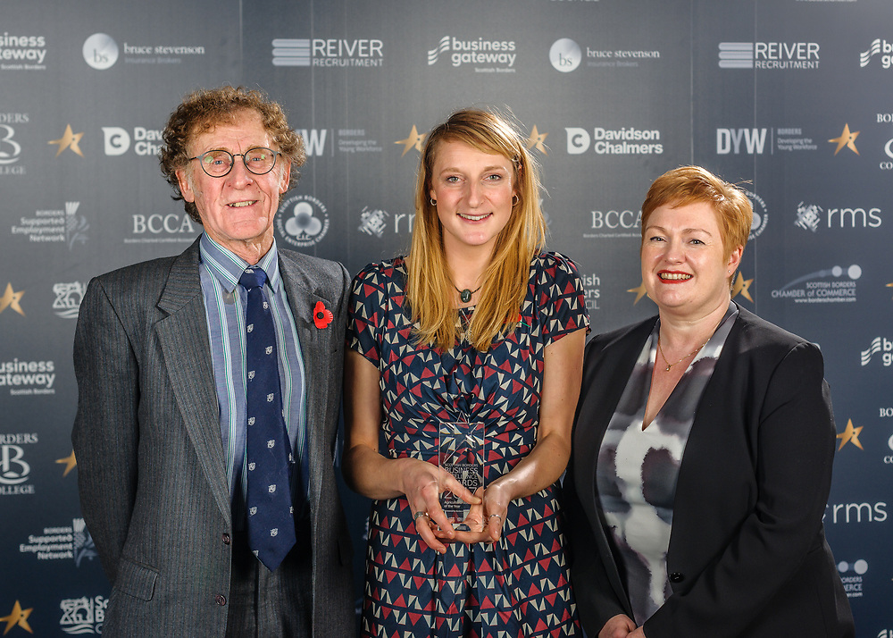 Scottish Border of Chamber Border Busines awards, 2017, held at Springwood Hall.<br />