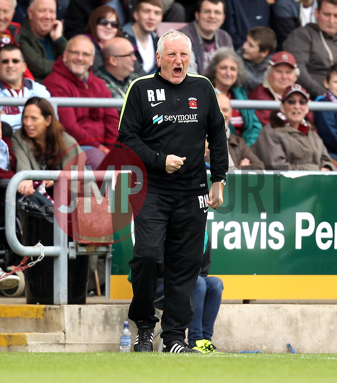 Hartlepool United Manager Ronnie Moore - Mandatory byline: Robbie Stephenson/JMP - 07966 386802 - 10/10/2015 - FOOTBALL - Sixfields Stadium - Northampton, England - Northampton Town v Hartlepool - Sky Bet League Two