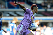 Nick Blackman celebrates with fans after his first goal during the Sky Bet Championship match between Birmingham City and Reading at St Andrews, Birmingham, England on 8 August 2015. Photo by Alan Franklin.