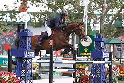 Philippaerts Nicola, (BEL), Challenge vd Begijnakker<br /> Akita Drilling Cup<br /> Spruce Meadows Masters - Calgary 2015<br /> © Hippo Foto - Dirk Caremans<br /> 09/09/15