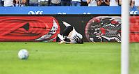 Football UEFA Champions League Q2<br /> Rosenborg - BATE<br /> Lerkendal Stadium, Trondheim, Norway<br /> 31 July 2019<br /> <br /> Alexander Søderlund har scoret 2-0 for Rosenborg og jubler på sin egen måte<br /> <br /> Foto : Arve Johnsen, Digitalsport