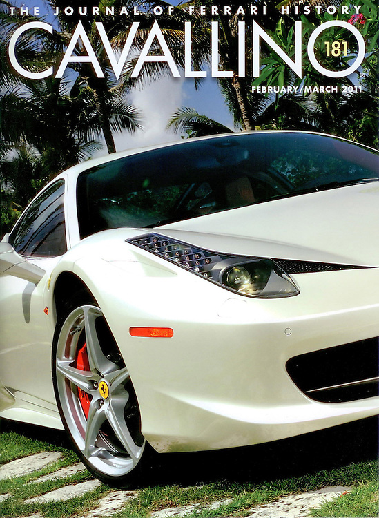 Magazine Cover - 458 Ferarri Italia