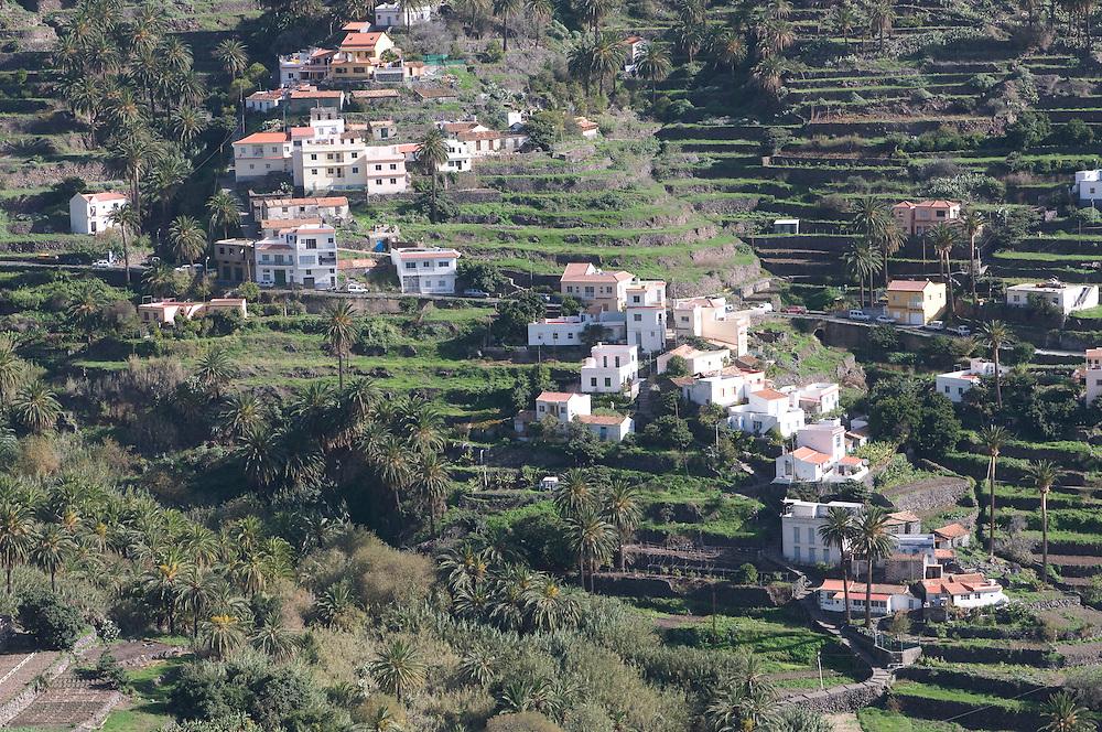 Stone house in Valle Gran Rey, La Gomera, Canary Islands, Spain