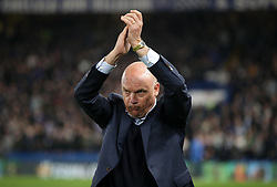 Malmo manager Uwe Rosler during the UEFA Europa League round of 32 second leg match at Stamford Bridge, London.
