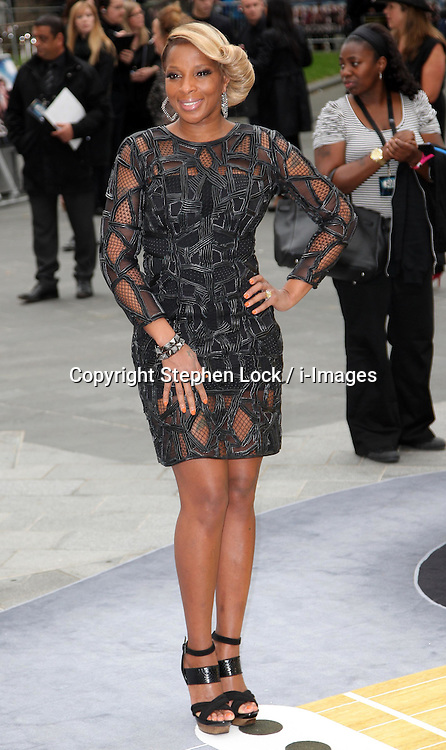 Mary J Blige  at the premiere of Rock of Ages  in London on Sunday, 10th June 2012.  Photo by: Stephen Lock / i-Images