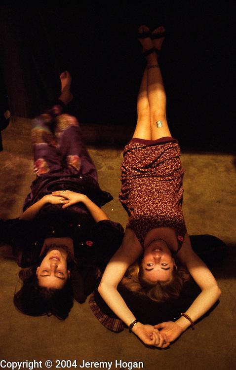 Hippie Chicks at a Mardi Gras Grateful Dead Show, Oakland, Calif. 1995