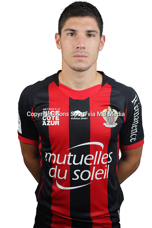Jeremy PIED - 02.08.2013 - Photo Officielle - Nice -<br /> Photo : Icon Sport