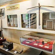 An exhibit with artefacts from the war against the Japanese in 1944-45. The museum was opened on July 17, 1956, two years after the victory over the French at Dien Bien Phu. It is also known as the Army Museum (the Vietnamese had little in the way of naval or air forces at the time) and is located in central Hanoi in the Ba Dinh District near the Lenin Monument in Lenin Park and not far from the Ho Chi Minh Mausoleum.