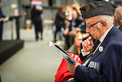 Ralph Levy at Hidden Heroes, an event celebrating the part played by Jewish volunteers in the Royal Air Force during World War Two, at the RAF Museum in London. The event is part of celebrations to mark the centenary of the RAF. Photo date: Thursday, November 15, 2018. Photo credit should read: Richard Gray/EMPICS