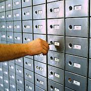 PTT Huizen Energieweg nieuwe brievenbussen