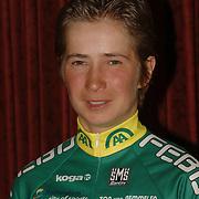 NLD/Alphen aan de Rijn/20060308 - Presentatie nieuwe wielerploeg Leontien van Moorsel, AA Drink Cycling team, Sandra Missbach