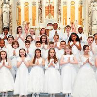 St Ann 2012 1:00 PM First Communion  05-05-12