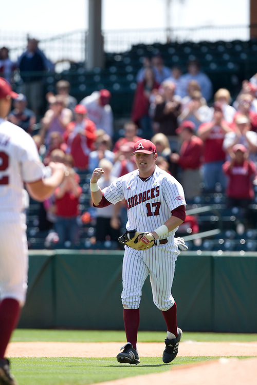 Arkansas Razorback 2009 Baseball Team...©Wesley Hitt.All Rights Reserved.501-258-0920.