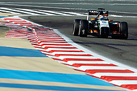 HULKENBERG Nico (Ger) Force India Vjm07 Action during the 2014 Formula One World Championship, Grand Prix of Bahrain on April 6, 2014 in Sakhir, Bahrain. Photo Eric Vargiolu / DPPI