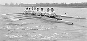 Nottingham. United Kingdom. <br /> GBR M8+. Pauline BIRD, Fiona JOHNSTONE, Kate HOLDROYAD, Ali BONNER, Joanna GOUGH, Trish REID, Ann CALAWAY, coc. Kate NORRISH<br /> Nottingham International Regatta, National Water Sport Centre, Holme Pierrepont. England<br /> <br /> 31.05.1986 to 01.06.1986<br /> <br /> [Mandatory Credit: Peter SPURRIER/Intersport images] 1986 Nottingham International Regatta, Nottingham. UK