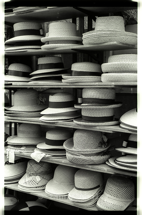 Rack of hats Italy