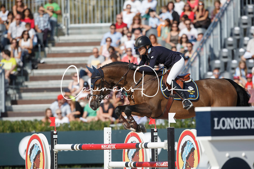 Baryard-Johnsson Malin, (SWE), H&M Tornesch <br /> First Round<br /> Furusiyya FEI Nations Cup Jumping Final - Barcelona 2015<br /> © Dirk Caremans<br /> 24/09/15