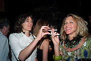 BELLA FREUD; MAIA HIRST, Prada Congo Benefit party. Double Club. Torrens Place. Angel. London. 2 July 2009.
