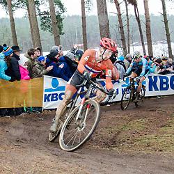 31-01-2016: Wielrennen: WK cyclecross elite: Heusden ZolderHEUSDEN-ZOLDER (BEL) cyclocrossOp het circuit van Terlamen-Zolder streden de elite veldrijders om de mondiale titels in het veld. <br /> WK Zolder:<br />  Lars van der Haar