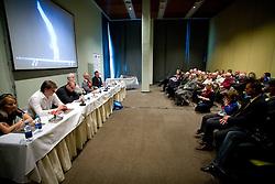 "Presentation of a new book of one of the best Slovenian gymnast Miro Cerar named ""Miroslav Cerar in njegov cas - Miroslav Cerar and his time"" at his 70 years anniversary, on October 30, 2009, in Hotel Mons, Ljubljana, Slovenia.   (Photo by Vid Ponikvar / Sportida)"
