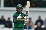 Michael Lumb during the Royal London 1 Day Cup match between Worcestershire County Cricket Club and Nottinghamshire County Cricket Club at New Road, Worcester, United Kingdom on 27 April 2017. Photo by Simon Trafford.