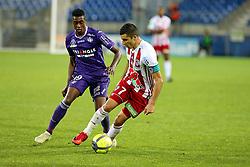 May 23, 2018 - Montpellier, France - Riad Nouri (ACA) vs Wergiton Somalia  (Credit Image: © Panoramic via ZUMA Press)