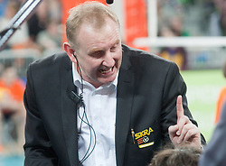 Head coach Jacek Nawrocki of Belchatow during volleyball match between ACH Volley LJUBLJANA and  PGE Skra Belchatow (POL) of 2012 CEV Volleyball Champions League, Men, League Round in Pool F, 4th Leg, on December 20, 2011, in Arena Stozice, Ljubljana, Slovenia. (Photo By Grega Valancic / Sportida.com)