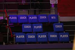 January 30, 2018 - St.Petersburg, Russia - Russian Federation. Saint-Petersburg. SIBUR-Arena. Tennis. Tennis tournament. Tennis tournament WTA St.Petersburg Ladies Trophy 2018. Women. (Credit Image: © Russian Look via ZUMA Wire)
