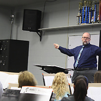 """JOHN WARD/BUY AT PHOTOS.MONROECOUNTYJOURNAL.COM<br /> Amory High School Band Director Jeff Colburn was recently named to School Band and Orchestra Magazine's """"50 Directors Who Make a Difference"""" list."""