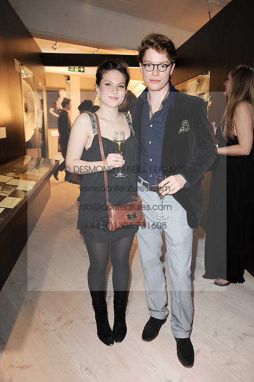 FREDDIE FOX son of actor Edward Fox and DAISY BOULTON at a dinner hosted by Harper's Bazaar to celebrate Browns 40th Anniversary in aid of Women International held at The Regent Penthouses & Lofts, 16-18 Marshall Street, London on 20th May 2010.