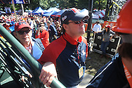 Ford Dye during ESPN's College Gamday in the Grove in Oxford, Miss. on Saturday, October 4, 2014. The broadcast was ESPN College Gameday's first ever from Ole Miss.