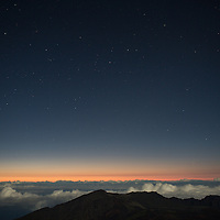 Haleakala, Maui, Hawaii | Sunrise and Stars | Climate Stories | Conservation Photographer <br />