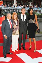 © Licensed to London News Pictures. 02/09/2013, UK. Jackie Stewart; David Coulthard,  Rush - World film premiere, Leicester Square gardens, London UK, 02 September 2013. Photo credit : Richard Goldschmidt/Piqtured/LNP