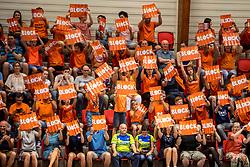 20-05-2018 NED: Netherlands - Slovenia, Doetinchem<br /> First match Golden European League / support dutch spectators