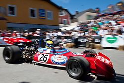 16.07.2011, Groebming, AUT, Ennstal Classic 2011, Chopard Grand Prix, im Bild Nanni Galli (TECNO Formel 1/PA 123 Bj. 1972) // during Chopard Grand Prix at the Ennstal Classic 2011 in Groebming, Austria on 16/7/2011. EXPA Pictures © 2011, PhotoCredit: EXPA/ J. Groder
